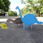 Поделка динозавр
