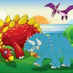 Мультяшные динозавры